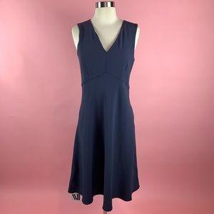 M.M Lafleur The Christine Dress in Midnight Blue